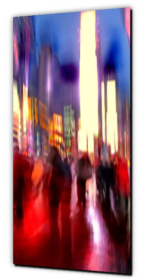 Times Square abstract