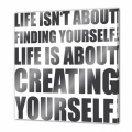 Life isn´t about finding yourself