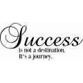 Success is not a destination